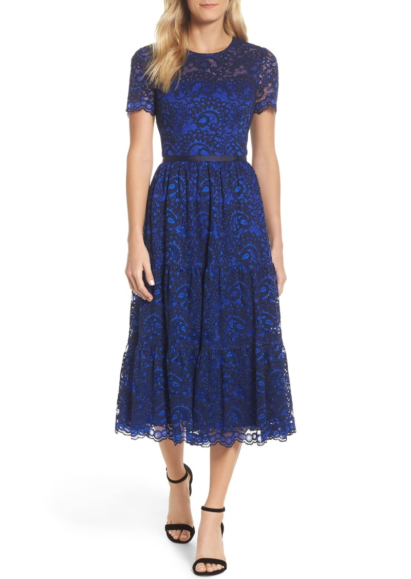 Maggy London Maggy London Lace Midi Dress