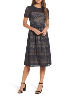 Maggy London Lace Midi Dress (Regular & Petite)