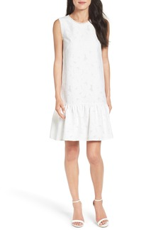 Maggy London Lace Ruffle Dress (Regular & Petite)