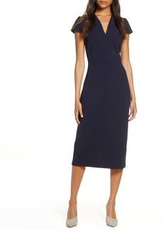 Maggy London Midi Sheath Dress