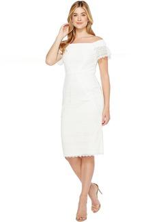 Maggy London Off the Shoulder Sheath Dress