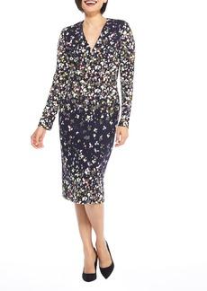 Maggy London Print Scuba Dress (Regular & Petite)