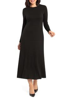 Maggy London Rib Knit Maxi Dress