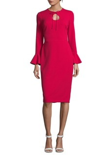 Maggy London Scarlet Bell Sleeve Dress
