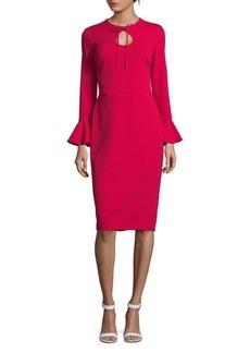 Maggy London Scarlet Bell Sleeve Dress