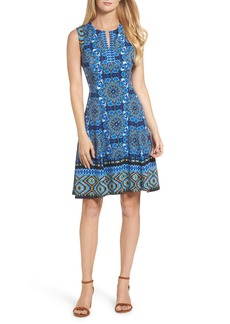 Maggy London Scuba Fit & Flare Dress (Regular & Petite)