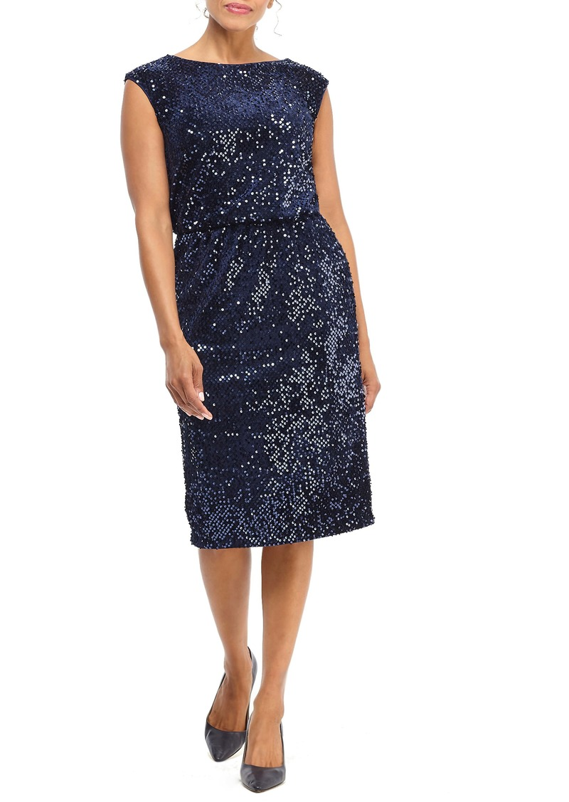 Maggy London Sequin Sheath Dress