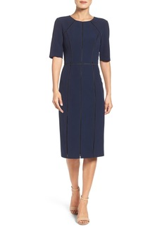 Maggy London Solid Dream Crepe Dress