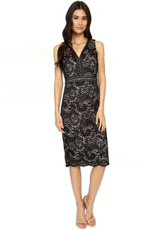 Maggy London Spanish Scroll Lace Sheath Dress