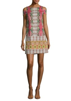 Maggy London Stained Glass Paisley Dress