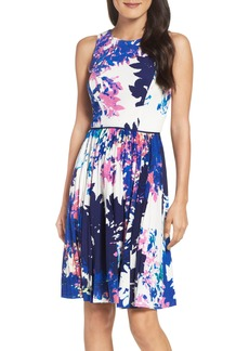 Maggy London Stretch Fit & Flare Dress (Regular & Petite)