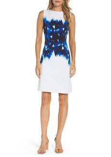 Maggy London Stretch Sheath Dress