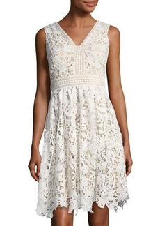 Maggy London Vine Flower Lace Dress