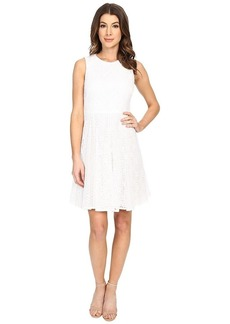 Maggy London Women's Box Lace Fit and Flare Dress