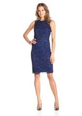 Maggy London Women's Branch Lace Novelty Sheath Dress