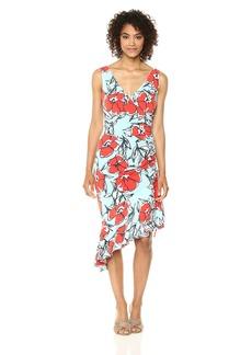 Maggy London Women's Floral Jersey Dress