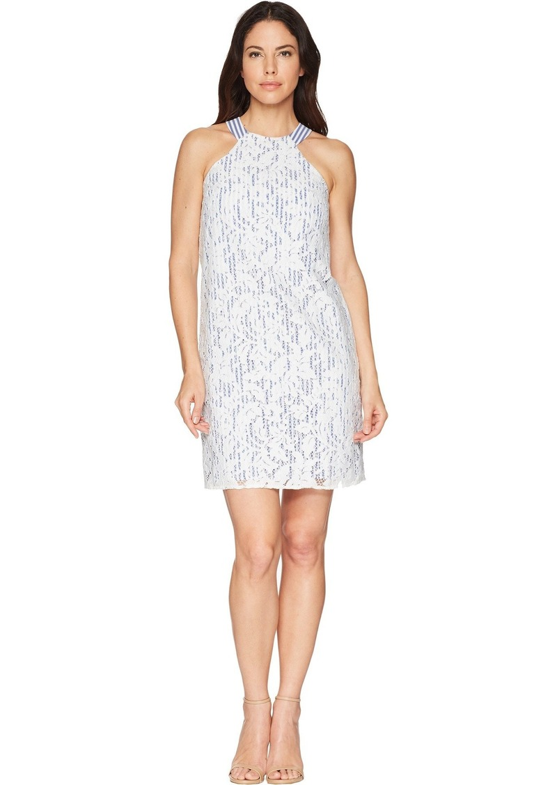 Maggy London Women's Lace Cocktail Halter Dress