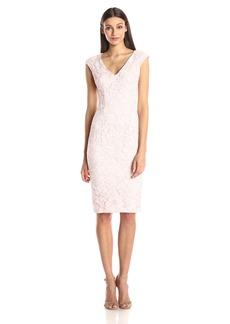 Maggy London Women's Rose Garden Lace Sheath Dress