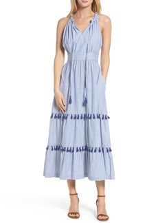 Maggy London Woven Cotton Dress