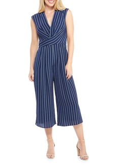 Maggy London Rope Striped Culotte Jumpsuit