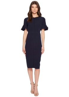 Maggy London Sheath Dress with Trim Detail