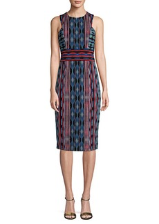 Maggy London Sleeveless Knee-Length Sheath Dress