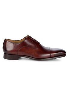 Magnanni Almond Toe Leather Oxfords