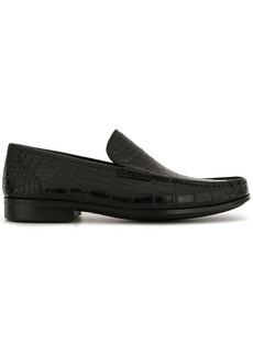 Magnanni almond toe loafers