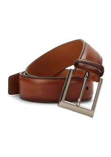 Magnanni Burnished Leather Belt