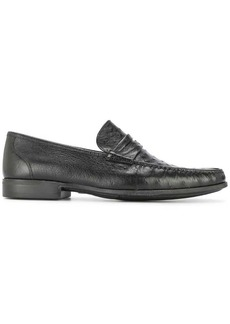Magnanni classic textured loafers