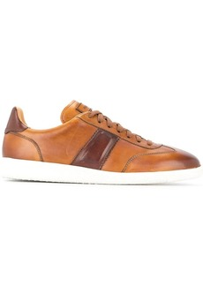 Magnanni contrast detail sneakers