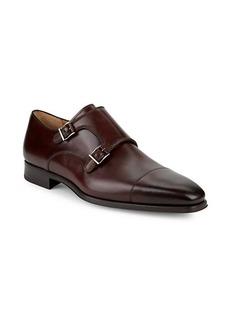 Magnanni Double Monkstrap Leather Shoes