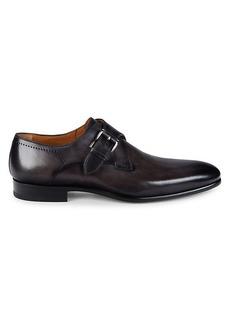 Magnanni Frades Grafito Single Monk Strap Shoes