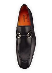 Magnanni Leather Bit Loafer