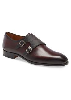 Magnanni Arlo Pebbled Monk Shoe (Men)
