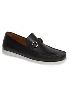 Magnanni Beasley Perforated Moc Toe Bit Loafer (Men)