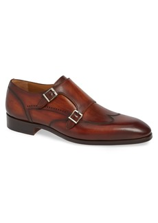Magnanni Camden Double Monk Strap Shoe (Men)