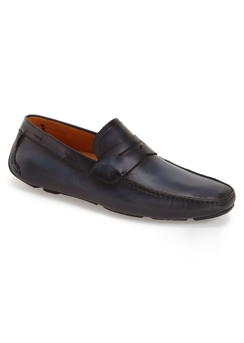 Magnanni 'Dylan' Leather Driving Shoe (Men)