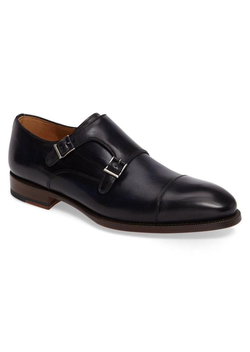Magnanni Evan Double Monk Strap Shoe (Men)