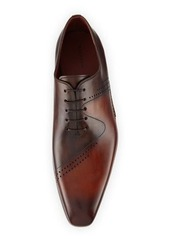 Magnanni for Neiman Marcus Matthew Perforated Calf Leather Oxford