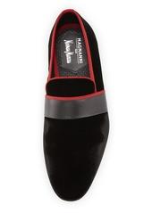 Magnanni Men's Velvet Formal Slipper