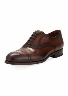 Magnanni Two-Tone Lace-Up Dress Shoe