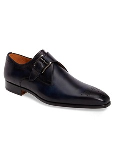 Magnanni Geruasi Monk Strap Shoe (Men)