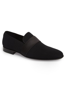 Magnanni Gervaso Textured Venetian Loafer (Men)