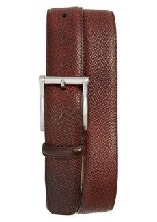 Magnanni Grab Cott Leather Belt