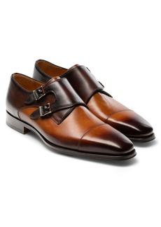 Magnanni Jaden Water Resistant Monk Shoe (Men)