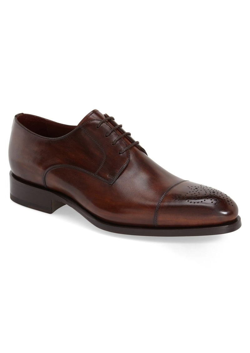 Magnanni 'Lalin' Water Resistant Cap Toe Derby (Men)