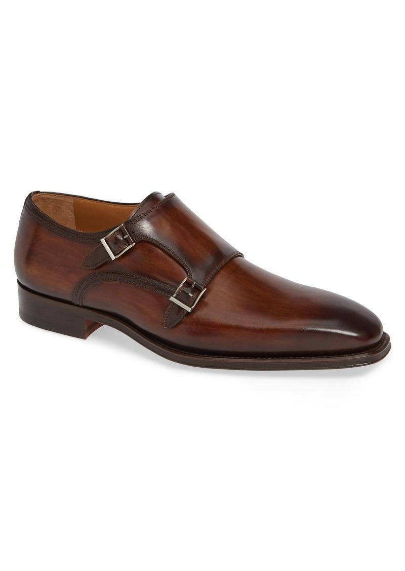 Magnanni Landon Double Strap Monk Shoe (Men)