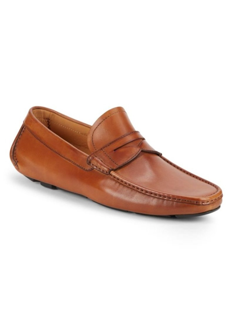 Magnanni for Saks Fifth Avenue Leather Drivers