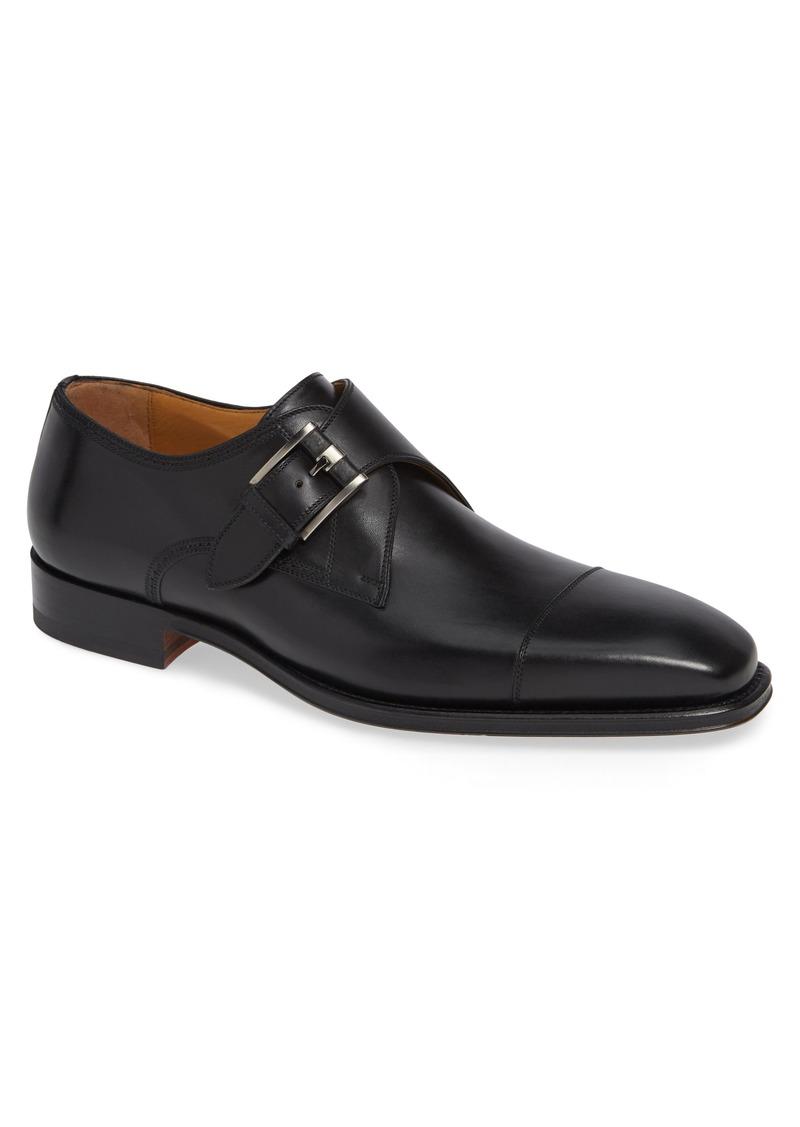 Magnanni Lennon Monk Strap Shoe (Men)